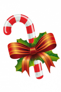 vector stock Vector candy christmas.  very merry free