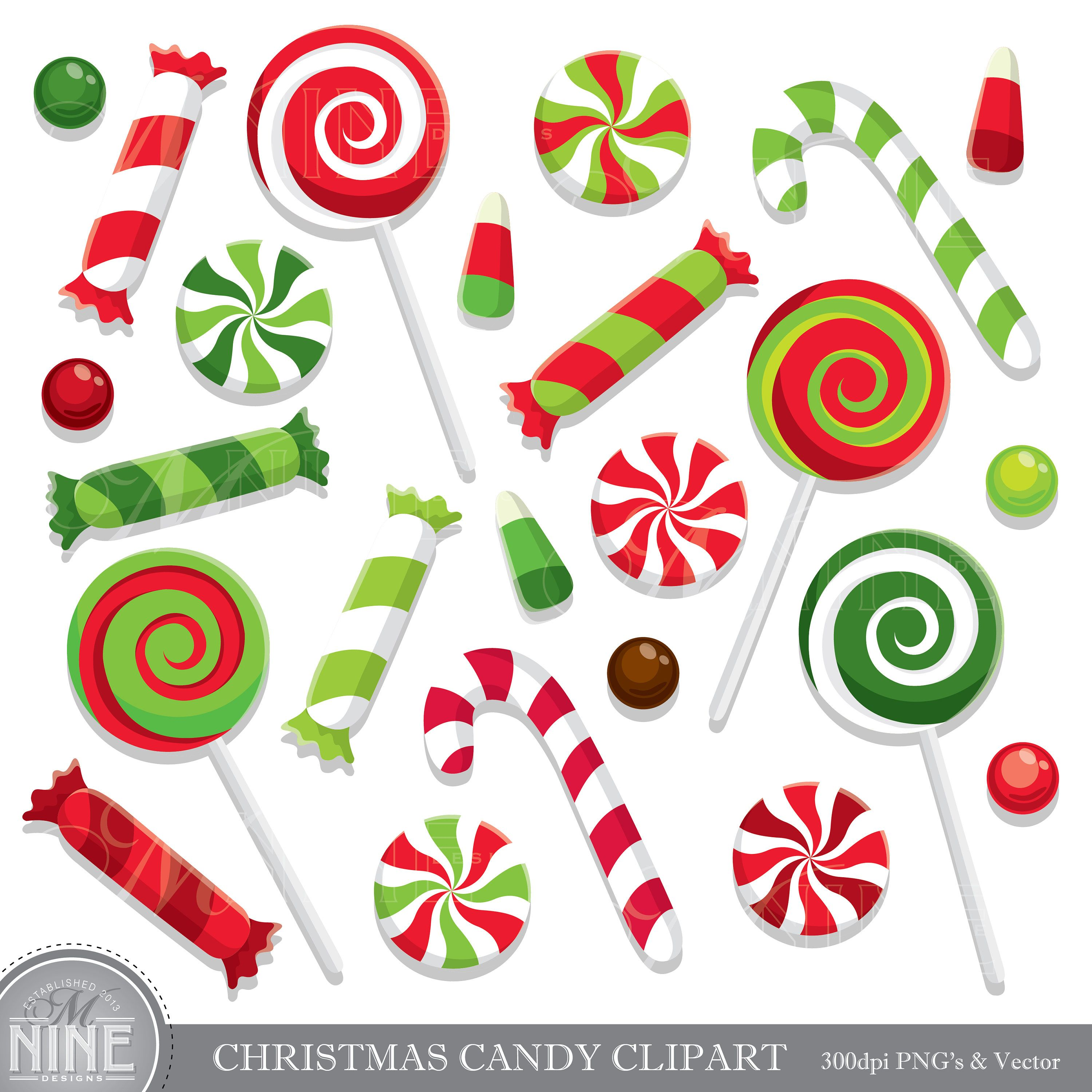 png free stock Clip art holiday clipart. Vector candy christmas