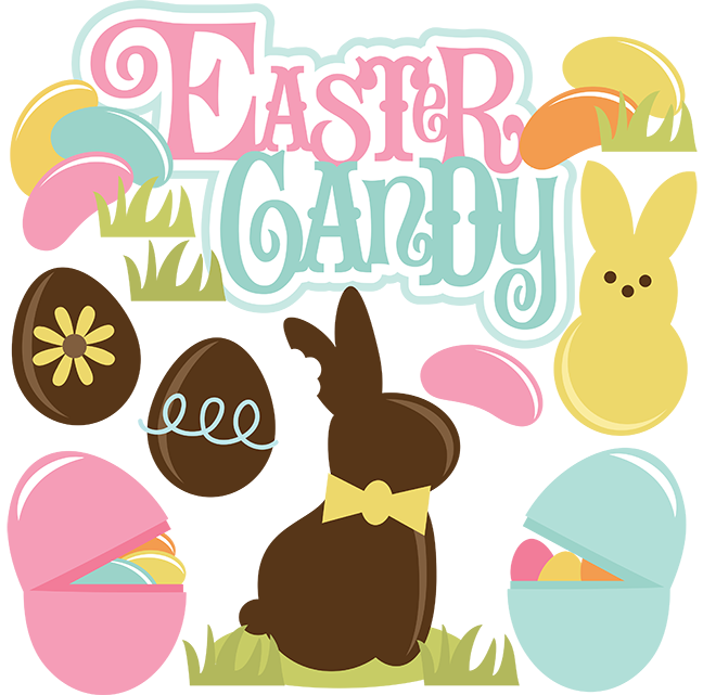clip transparent download Vector candy easter.  png for free