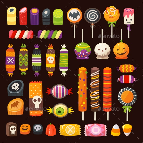 svg free Vector candy halloween. Images