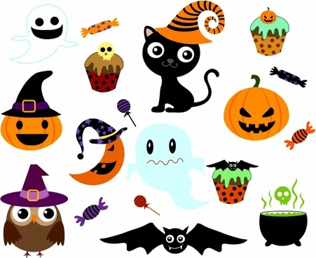 clipart black and white stock Free download for . Vector candy halloween