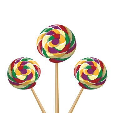 vector black and white Colored png vectors psd. Vector candy lollipop