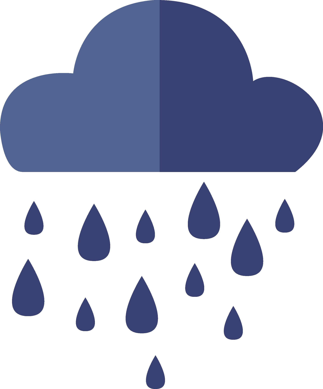 svg transparent Flat rain icon transprent. Vector candy raining