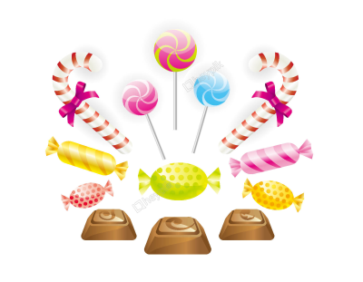 black and white library Rain png and vectors. Vector candy raining