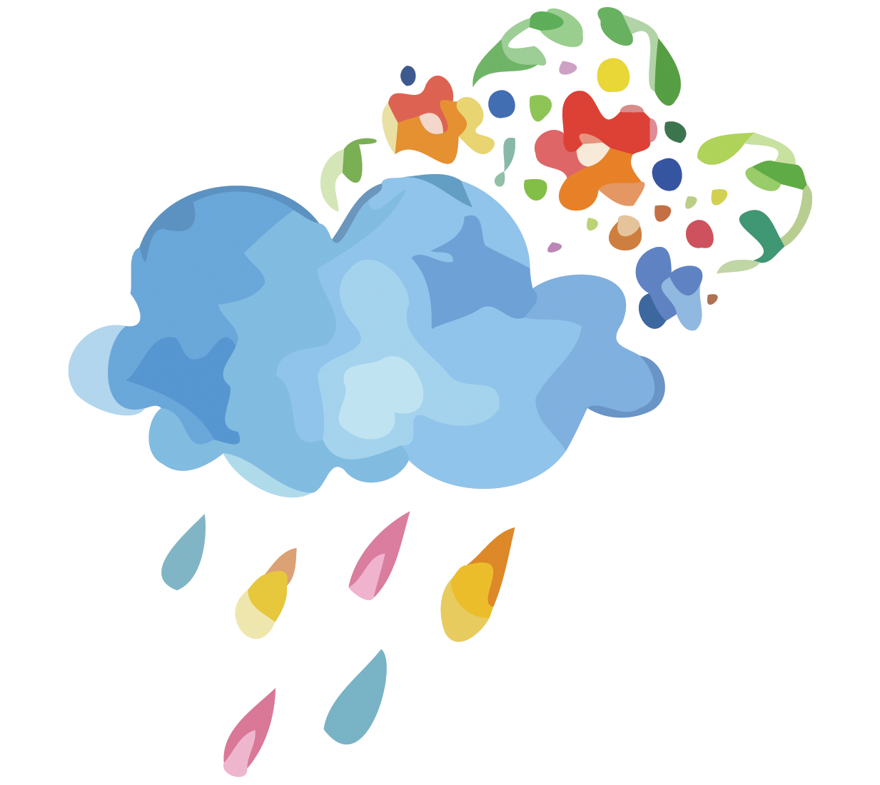 banner library download Rain clip art clouds. Vector candy raining