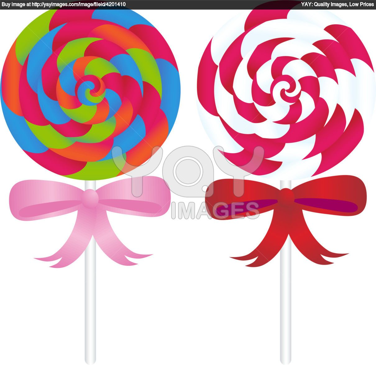 banner black and white stock Vector candy rock. Clip art lollipops clipart