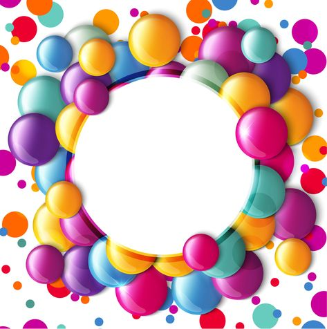 clipart library stock Frame background backgrounds . Vector candy round