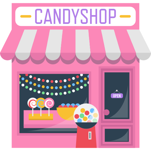 picture royalty free stock Free food icons icon. Vector candy shop