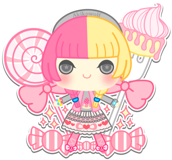 jpg library download C girl by beanprince. Vector candy sweet