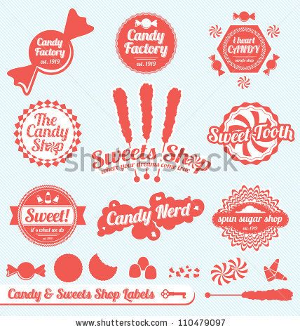 vector free download Vector candy vintage. Pin on prints