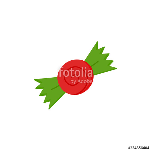 image free library Christmas illustration icon festive. Vector candy wrapped