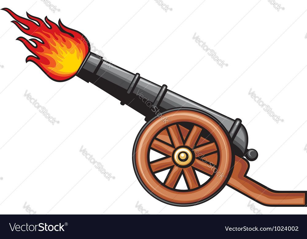 graphic royalty free stock Old images . Vector cannon artillery