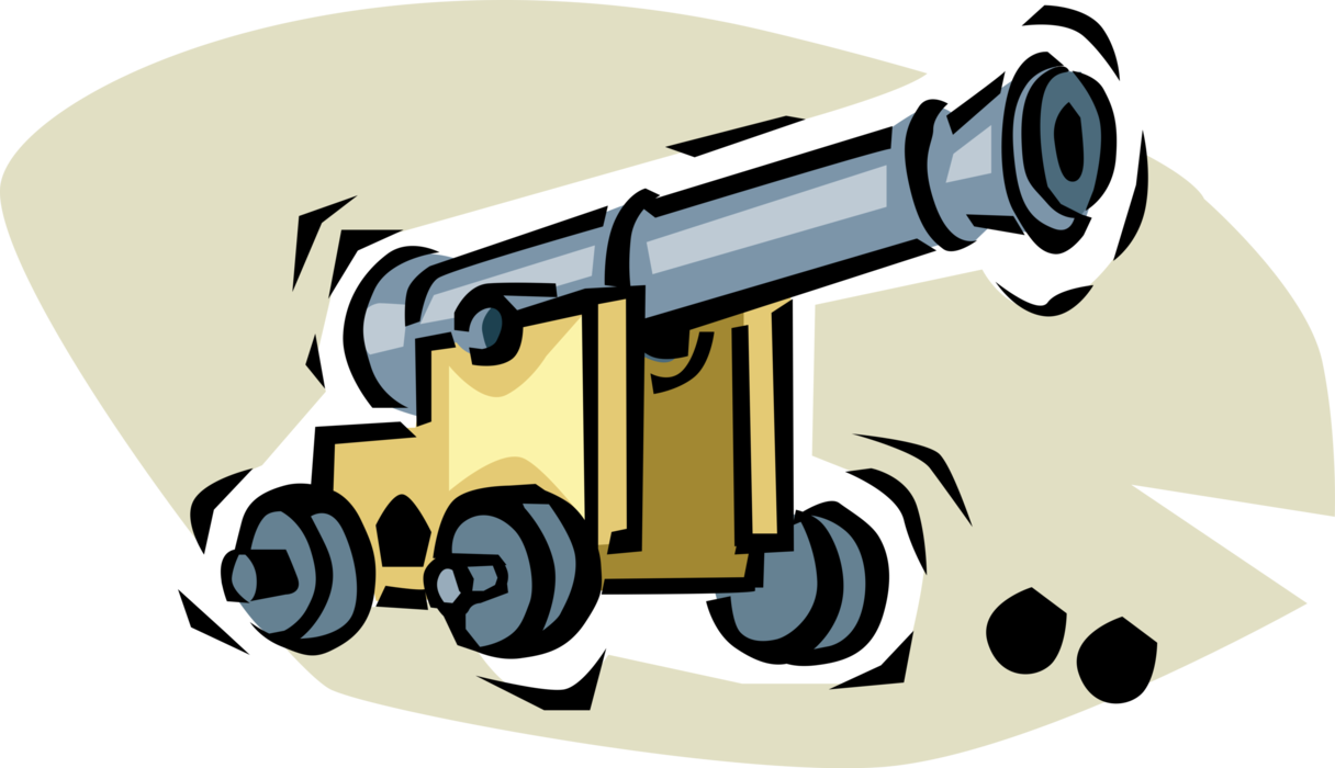 png library Vector cannon artillery. Weapon image illustration of