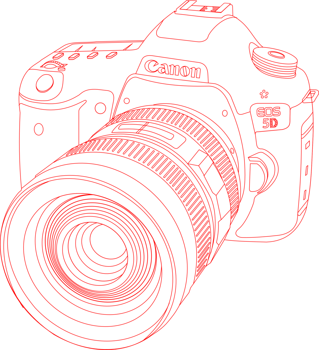 picture black and white stock Vector cannon elsword. Canon eos d by