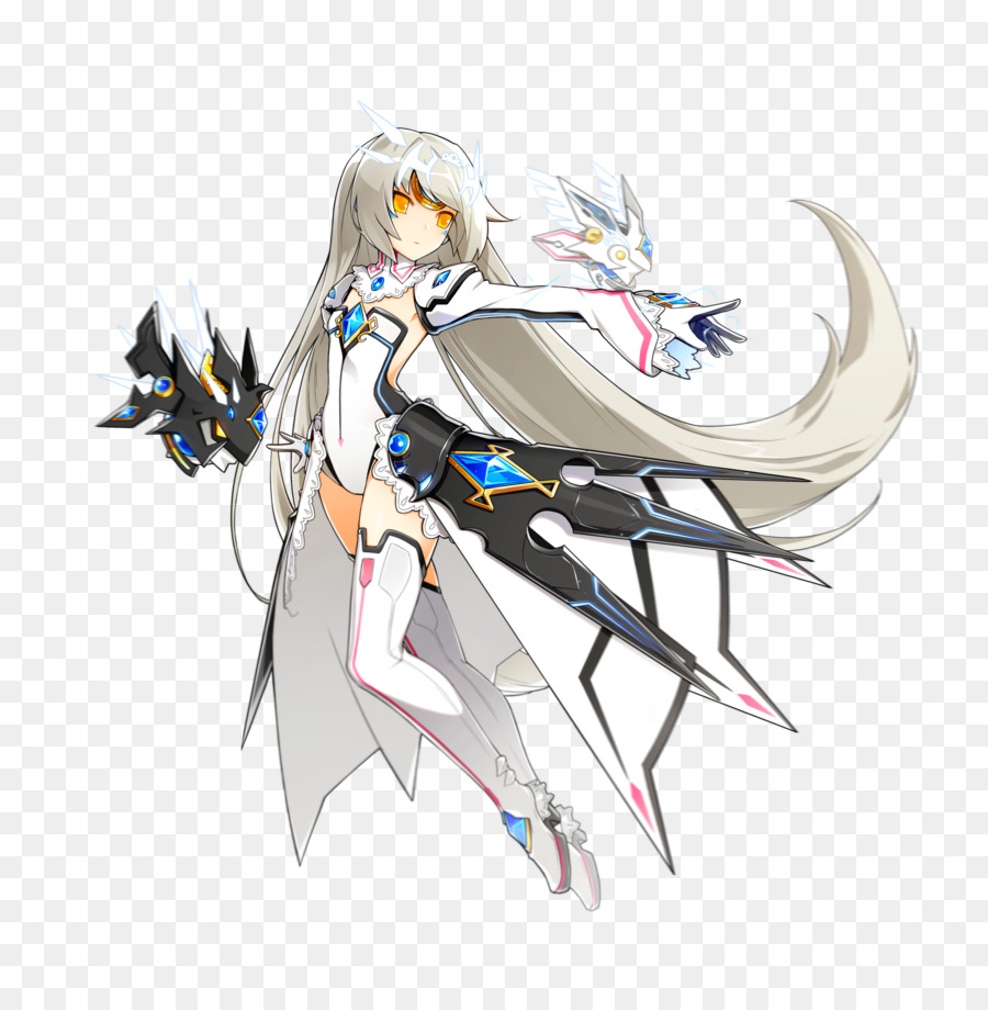 freeuse stock Seraph elesis eve online. Vector cannon elsword