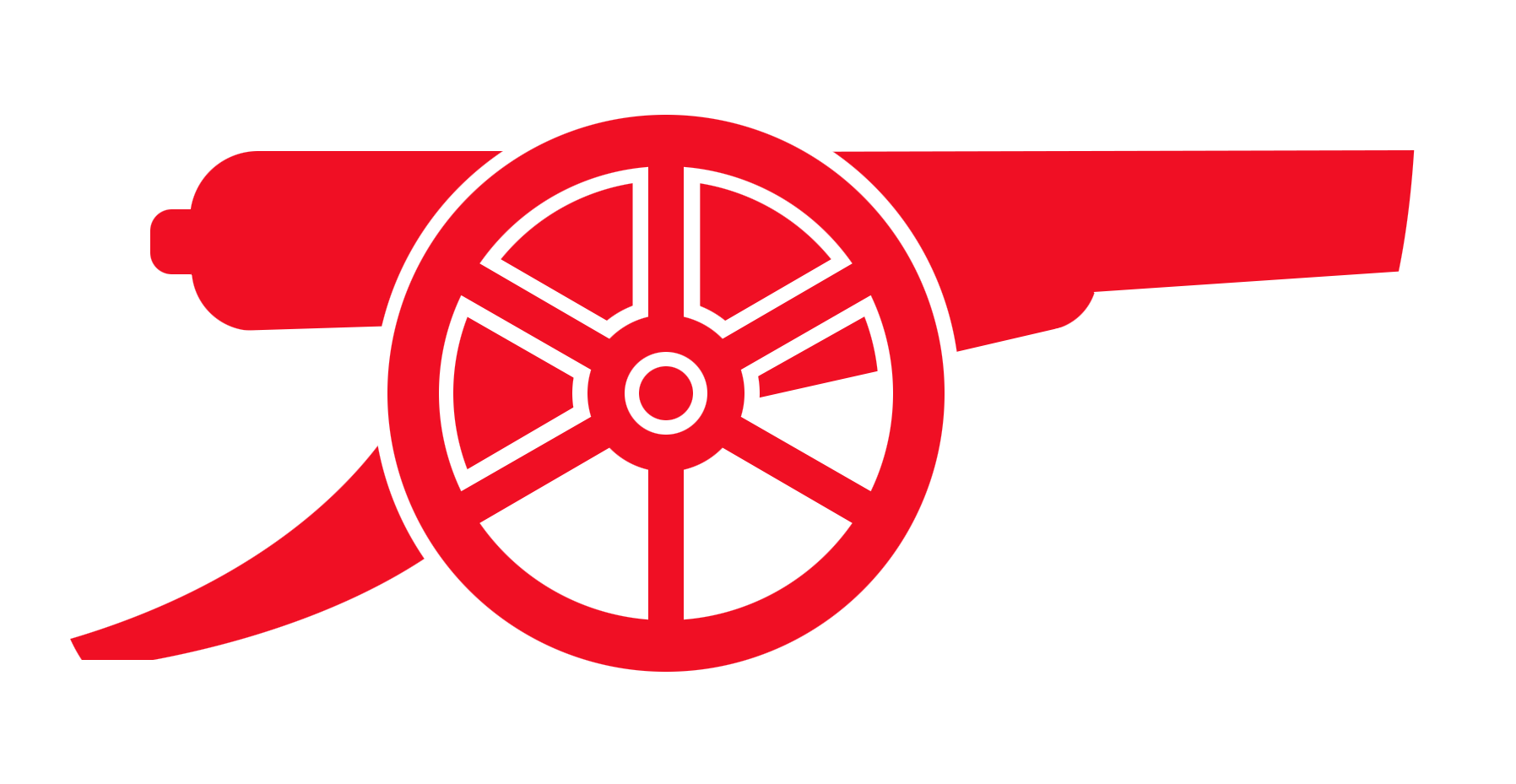 svg black and white Vector cannon meriam. Arsenal logos