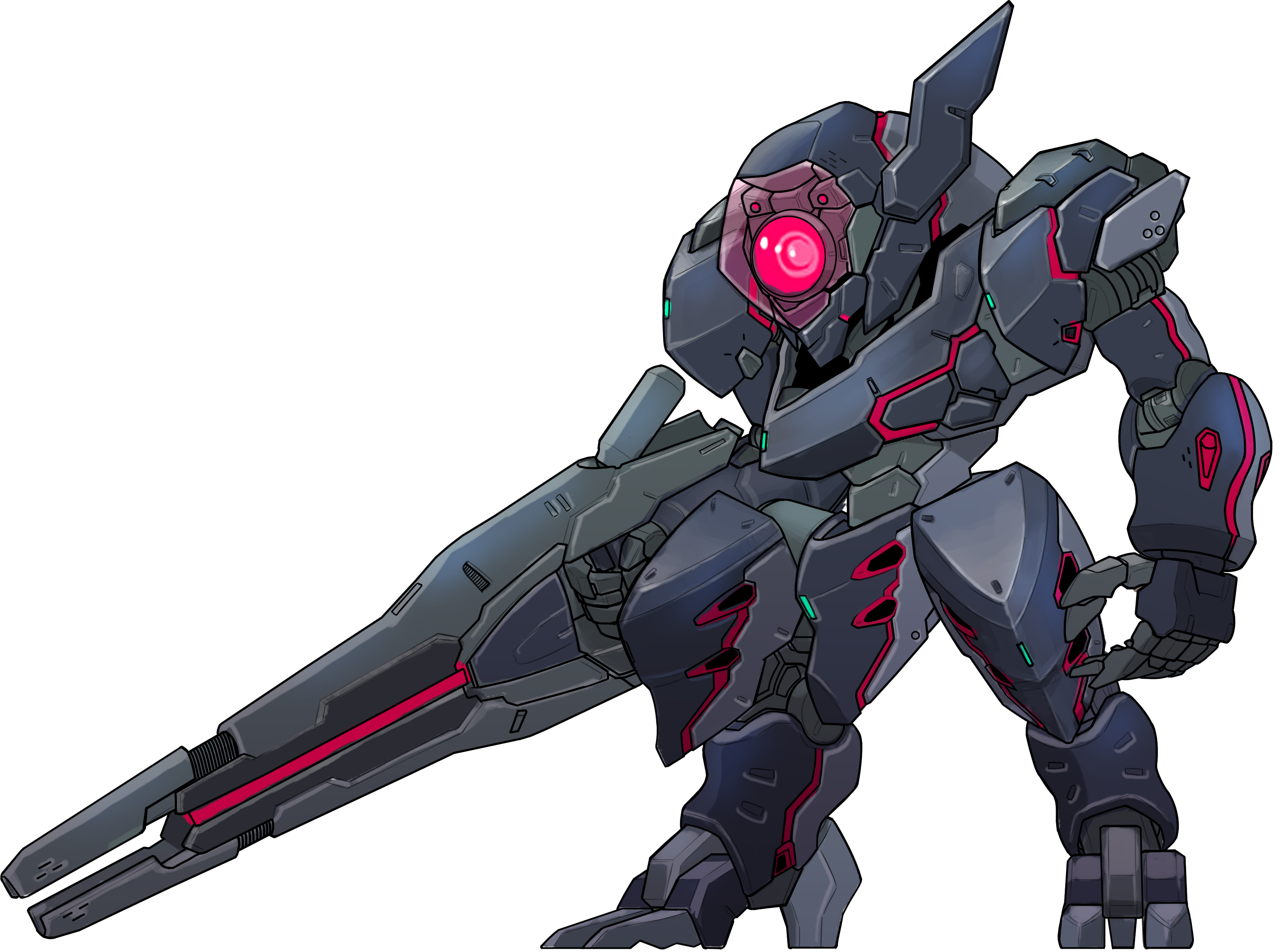 png black and white download An interview with rocketpunch. Vector cannon zone the enders