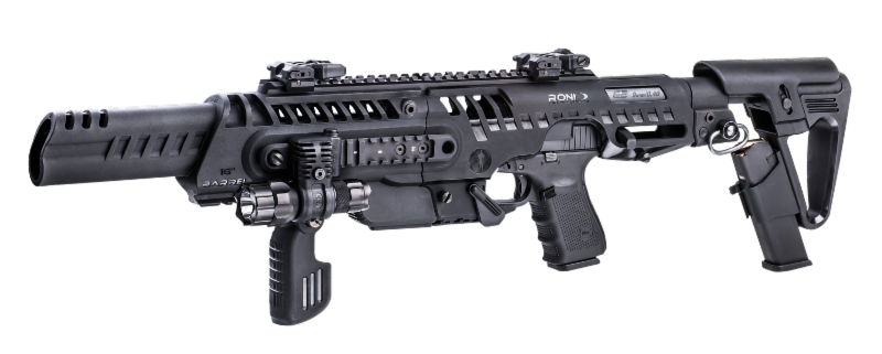 banner stock New from caa conversion. Vector carbine 23 glock