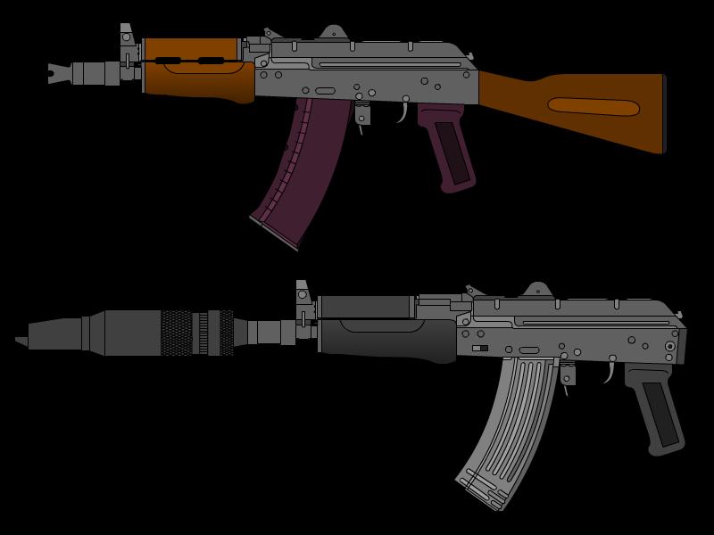 svg transparent download What if ak u. Vector carbine 3d printed