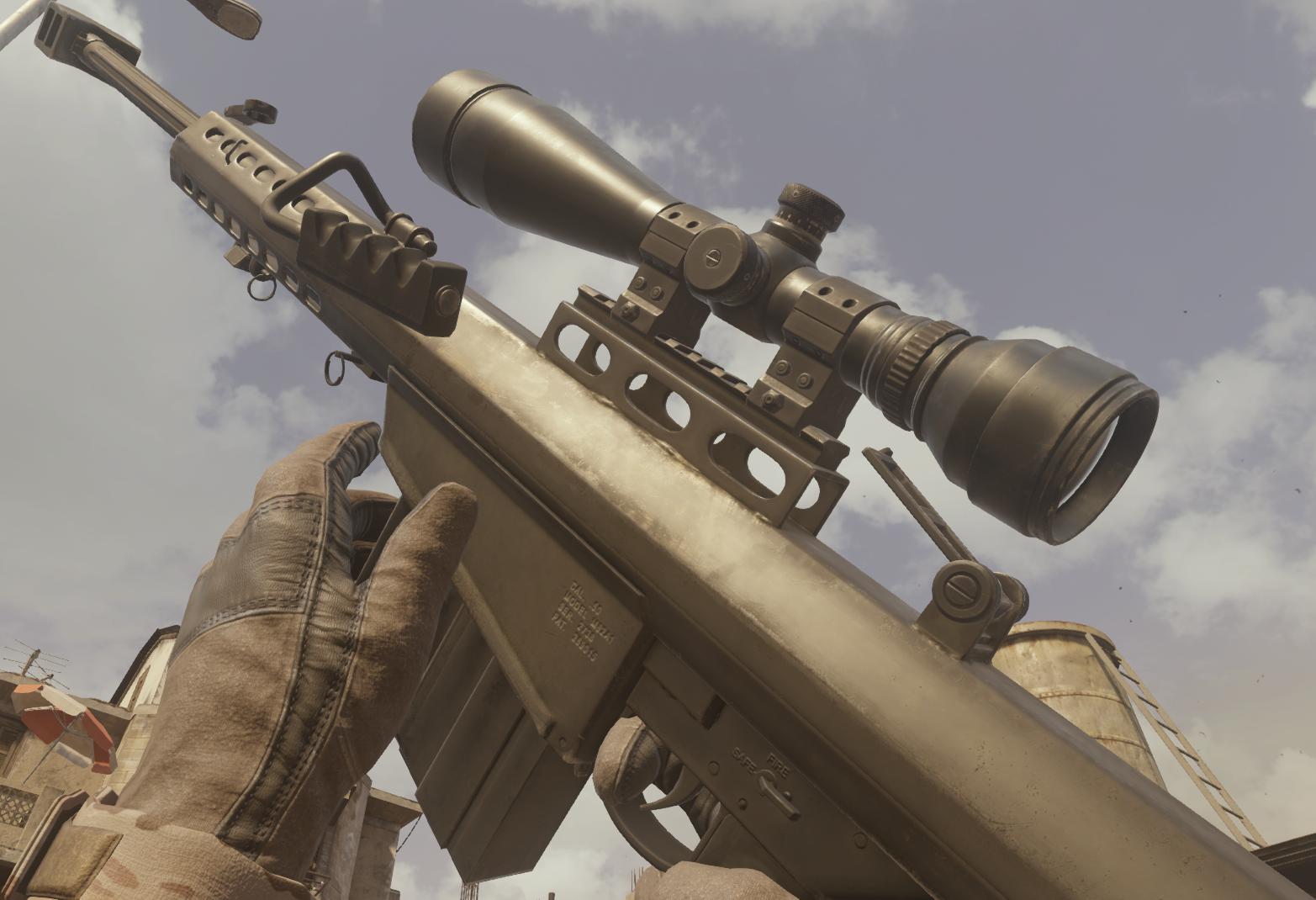 vector transparent library Vector carbine 50 cal. Barrett call of duty