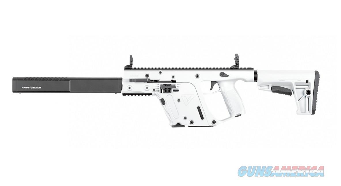 banner free stock Vector carbine alpine white. Kriss gen ii crb