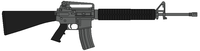 jpg free Us rifle m a. Vector carbine army gun