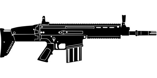 banner download Free photos assault search. Vector carbine automatic rifle