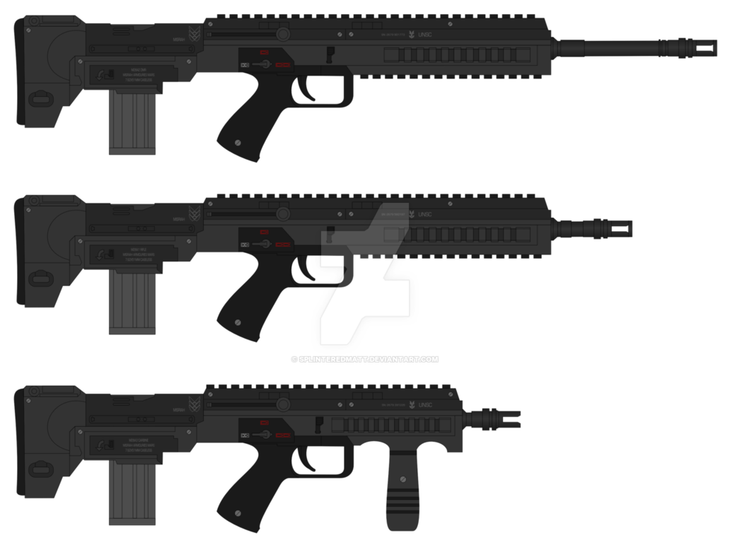 png library Vector carbine badass. M rifle by splinteredmatt
