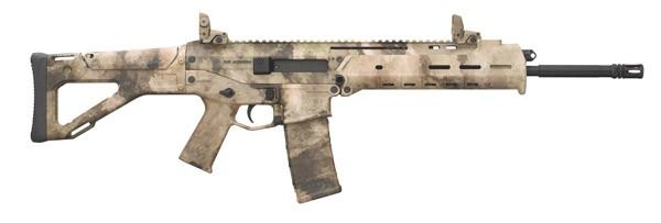 clip art royalty free library Bushmaster acr basic rifle. Vector carbine camo