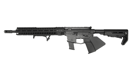 graphic freeuse stock Rifle supply rs stc. Vector carbine enhanced