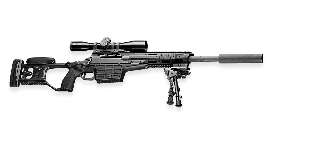 picture library Trg m bolt action. Vector carbine folding stock adapter