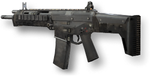 clipart library stock Acr call of duty. Vector carbine holographic sight