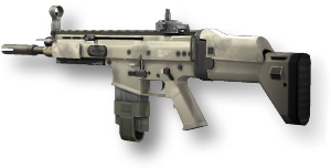 vector royalty free library Vector carbine holographic sight. Scar h call of