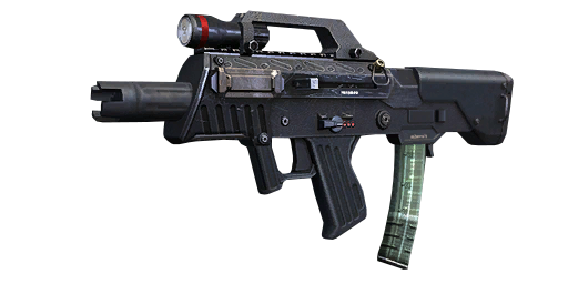 transparent library Best smg in black. Vector carbine k10 real life