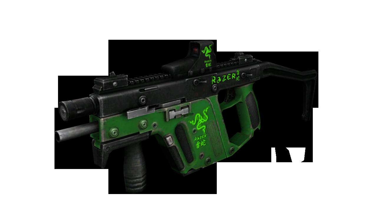 jpg royalty free download Vector carbine kriss super v. Image razer sideview png
