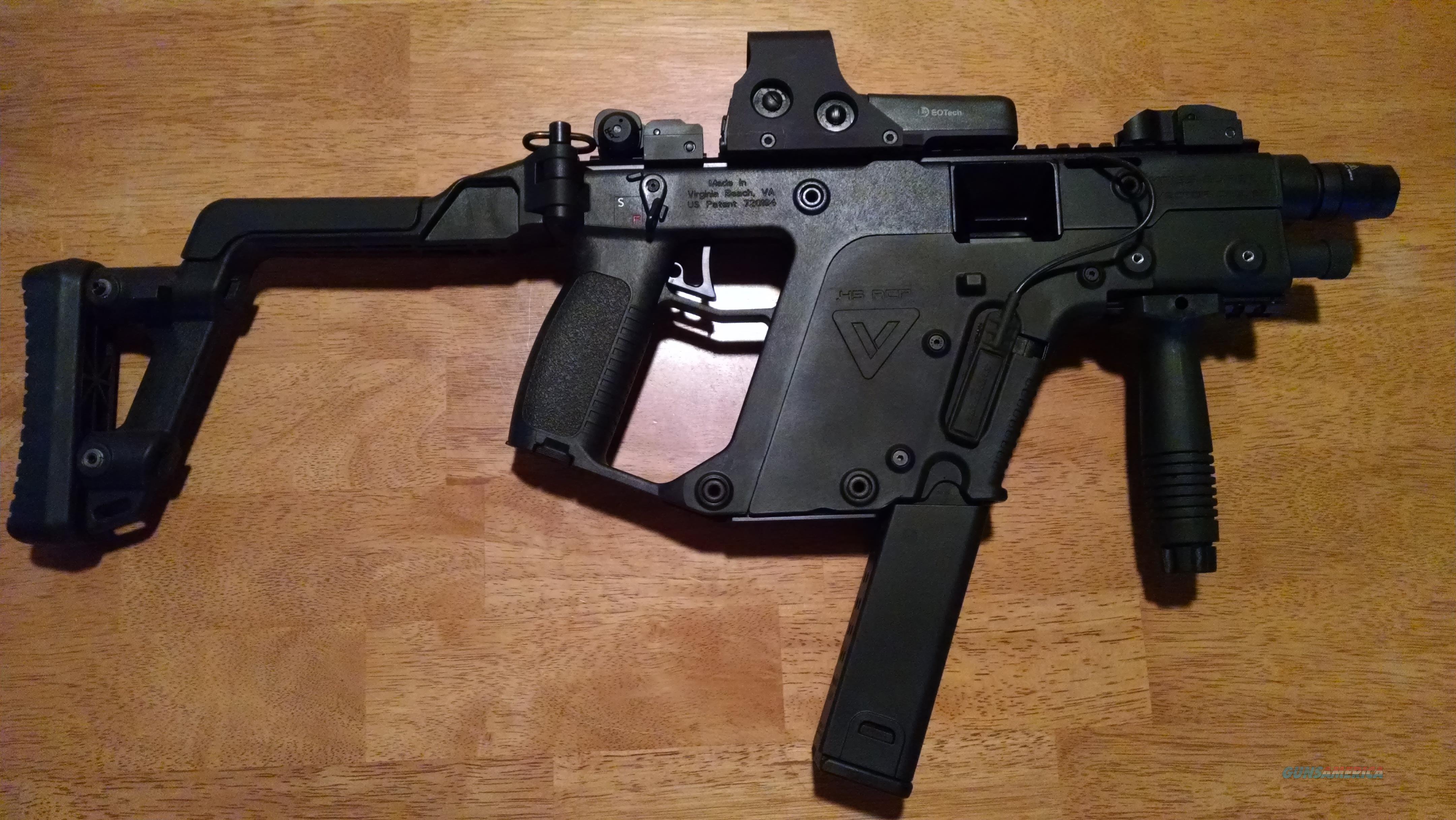 png free stock Vector carbine kriss super v. Acp semi automatic short