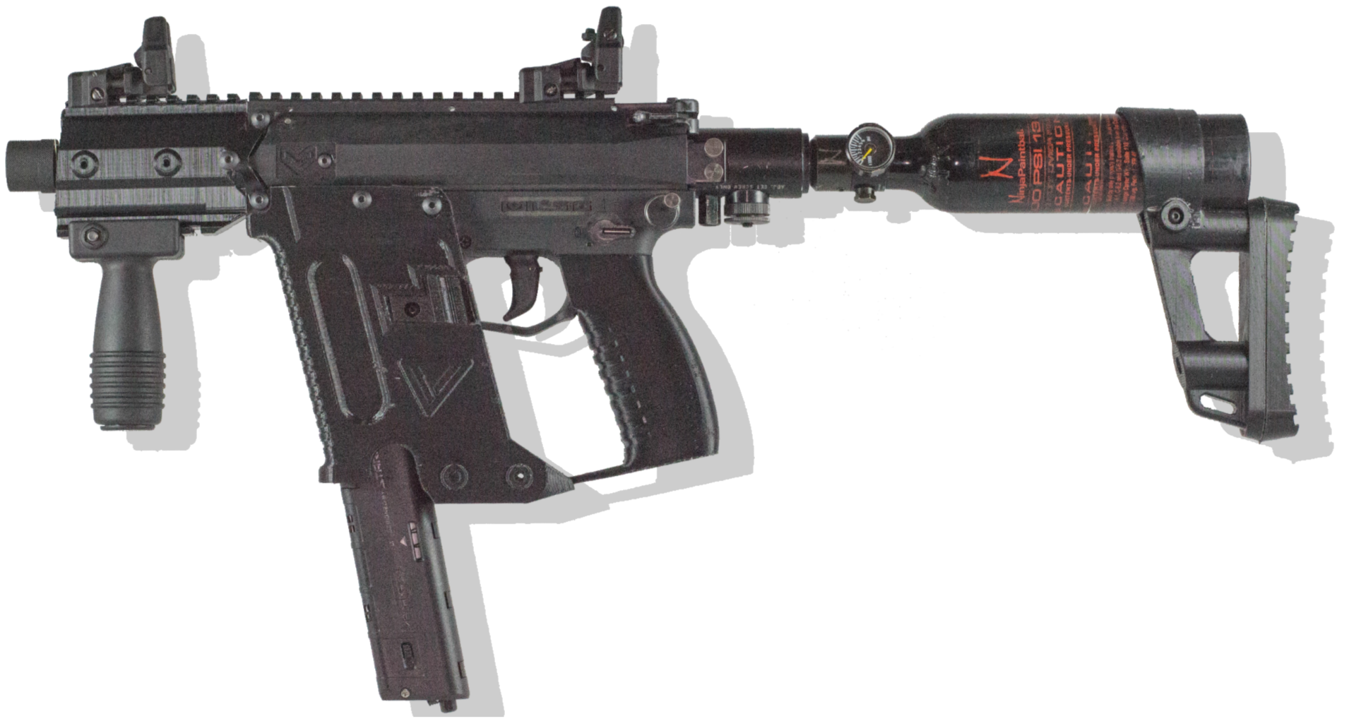 graphic transparent Vector carbine kross. Victor kit m magfed