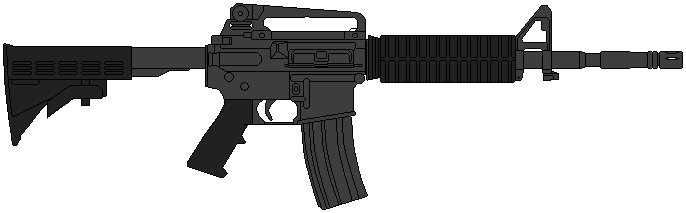 banner freeuse download Us army m by. Vector carbine m4a1