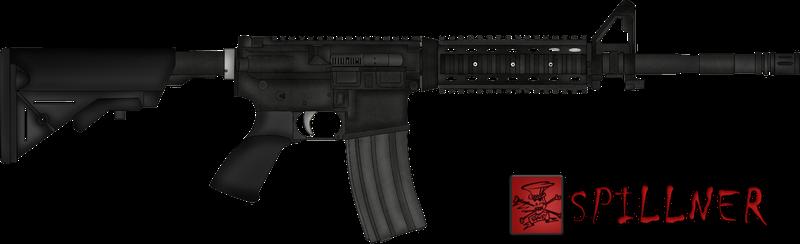 vector transparent Vector carbine m4a1. Sopmod explore on deviantart