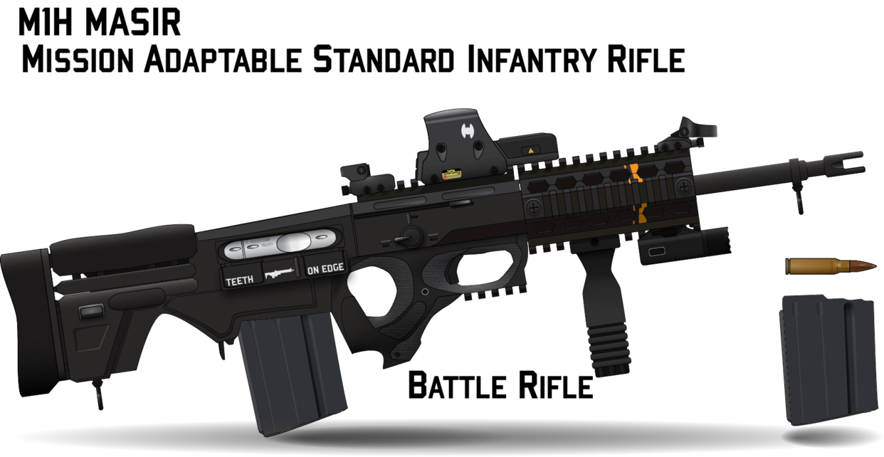picture freeuse library vector firearm assault rifle #107818690