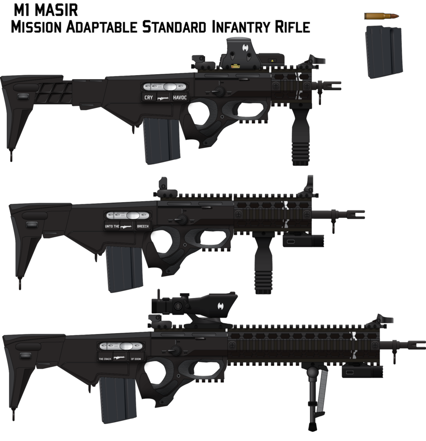 jpg free download Standard infantry by afterskies. Vector carbine military rifle