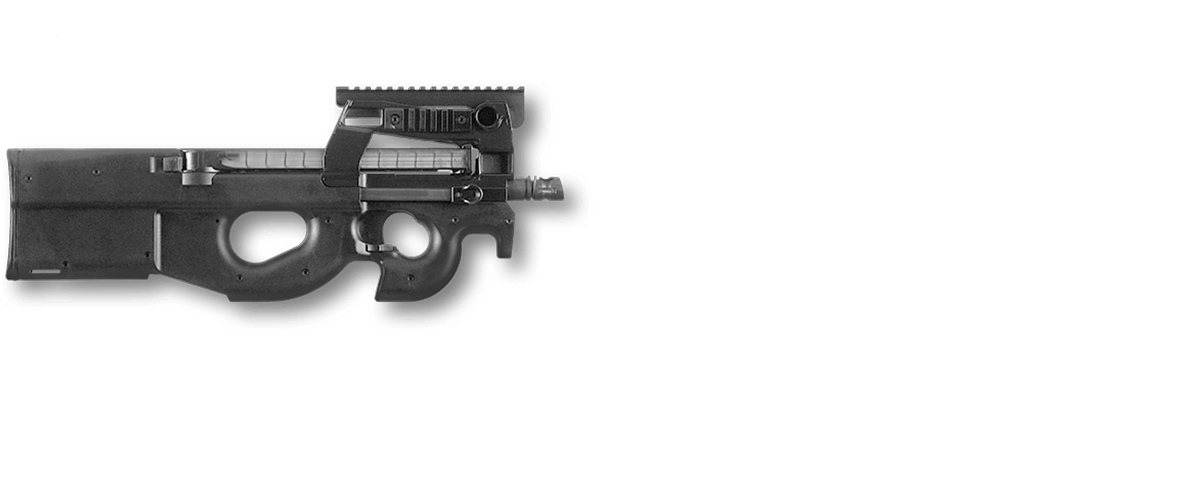 png transparent library Vector carbine p90. Fn ps standard p
