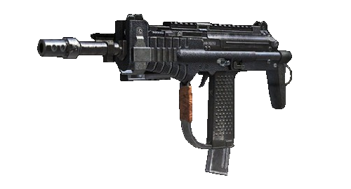clip royalty free stock Vector carbine uzi. Call of duty black