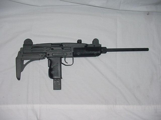 picture transparent library Vector carbine uzi. Arms inc mm with