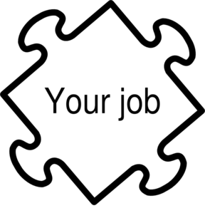 png library library Vector careers clipart. Jigaw job clip art