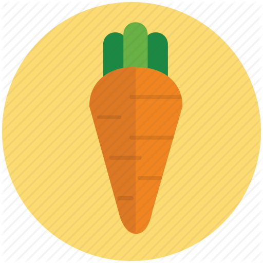 graphic royalty free library Vector carrot flat. Icons part by metropolicons