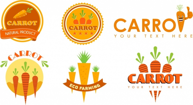 jpg royalty free stock Free download for . Vector carrot logo