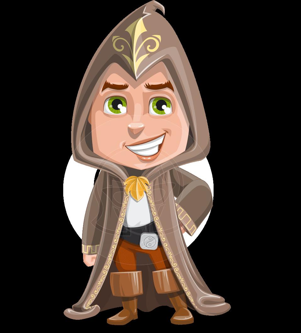 image free download Vector cartoons. Wizard cartoon character ezra