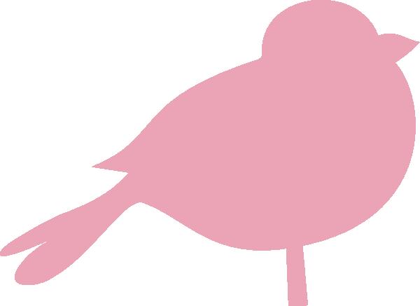 banner freeuse download Vector cartoons bird. Pink chubby clip art