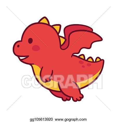 png freeuse download Vector cartoons dragon. Stock cute cartoon clip